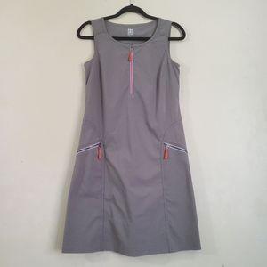 Title Nine Gray A-Line Dress Small